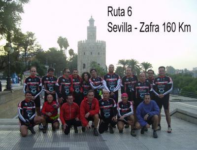Ruta 6, Sevilla -Zafra 160 Km