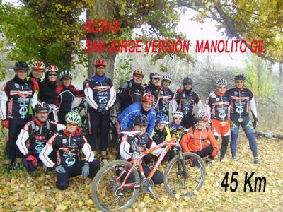 Ruta 8, San Jorge versión Manolo Gil (Incompleta)