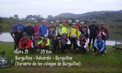 Ruta 15, Burguillos - Valverde ( nueva variante).