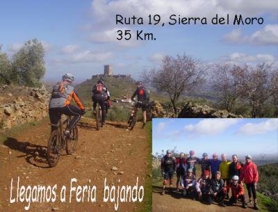 Ruta 19, La sierra del Moro.