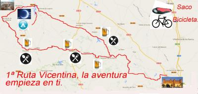 1ª Ruta Vicentina, la aventura empieza en ti.